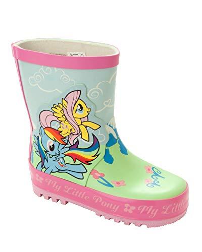 Girls My Little Pony Wellies Wellington RAIN Snow Welly Boots UK Size 6-12 Pink