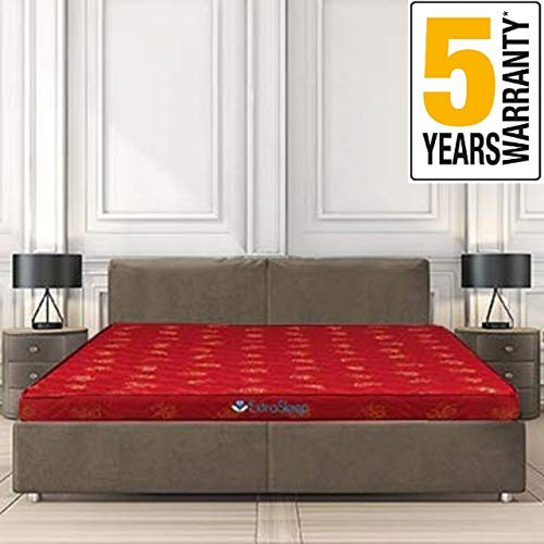 Extra Sleep Coir Mattress 4 Inch Back Support Orthopaedic Care,...