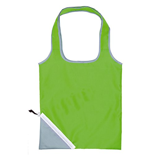 Acquisto pieghevole Grocery Bag Lightweight Nylon Tote Carry Shouder Supermercato (verde)