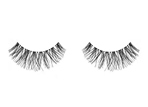 1 Pair ARDELL Beautiful Black Human Hair Invisible band Fashion Eyeashes / Strip Lashes - Naturals Wispies
