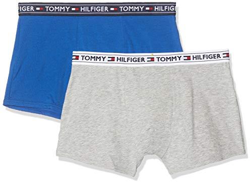 Tommy Hilfiger 2p Trunk Bañador, Multicolor Multi 071, Talla única Talla del Fabricante: 8-10...