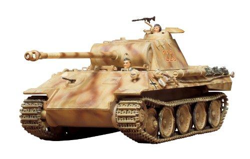 Tamiya 300035065 - 1:35 WWII Deutsche SdKfz.171 Panther A (2), Panzer