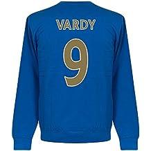 Leicester Vardy Team sudadera–Royal, unisex, azul real, XXXL