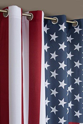 Cortina Motivo Bandera USA / EEUU 140 x 240 140 x