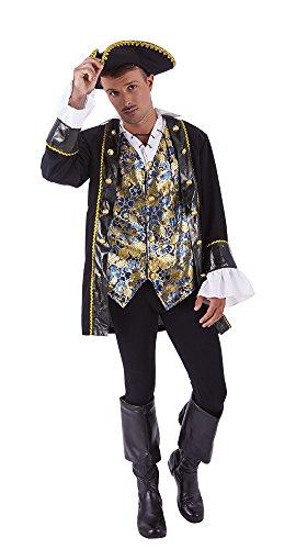 s Pirat Kostüm, U (Rubie 's Spain s8470) (Sevens Kostüme 2017)