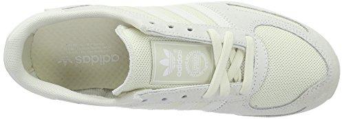 adidas La Trainer, Baskets Basses Femme Blanc (Off White/Off White/Ftwr White)