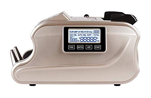 Metis Mix Note Counting Machine & Fake Note Detection, Suitable for All Old & New denominations, Updated with New Currency Notes Rs. 10, 20, 50, 100, 200, 500, 2000