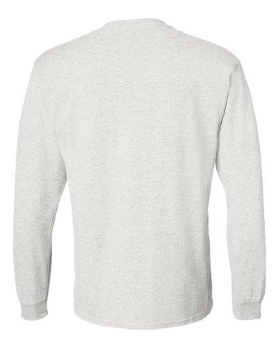 Treask 8400 - DryBlend 50/50 Long Sleeve T-Shirt Grigio cenere