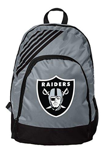 Forever Collectibles Oakland Raiders Bordüre Streifen Rucksack, grau, one Size