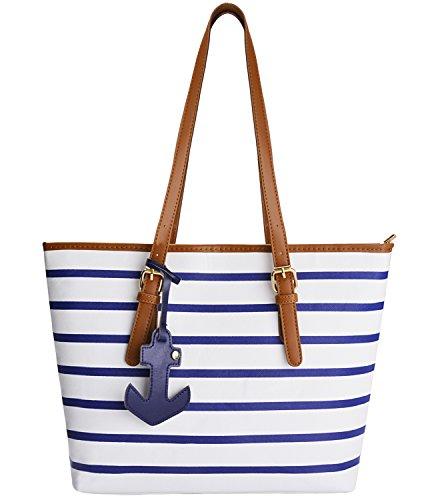 Coofit Handtaschen Designer Shopper Tasche Schultertasche Geldbörse Für Frauen