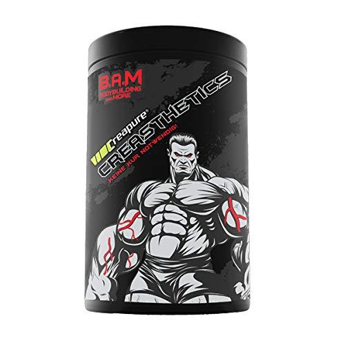 Fan Edition B.A.M. Creapure Creasthetics Aminosöure Aminos Supplement Fitness Bodybuilding