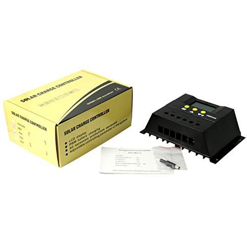 Printong regolatore di carica solare portatile retroilluminazione lcd 48 v regolatore automatico di carica batteria pwm con funzione di temporizzazione
