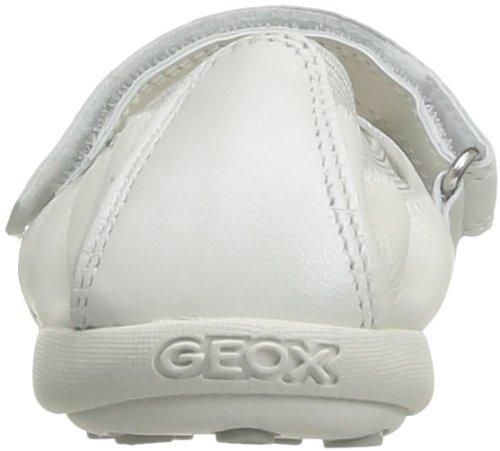 Geox J Jodie D, Ballerines fille Blanc (White)
