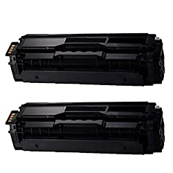 Shop 247 Compatible Toner Cartridge Replacement for Samsung CLT-K504S compatible Black toner cartridges replacement for Samsung Xpress SL-C1810W SL-C1860FW CLX-4195FN CLX-4195FW CLP-415NW color laser printers Cyan