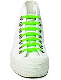 Lot de 14 lacets élastiques Shoeps vert
