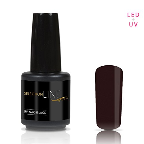 Selection Line Vernis à ongles Dark Brown 15 ML UV Premium Gel Nail Polish 7ml Nail Art