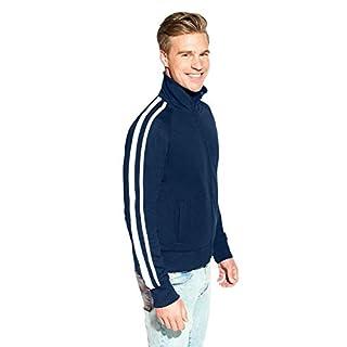 Promodoro Trainings Jacke mit Streifen Herren Sale, L, Marineblau