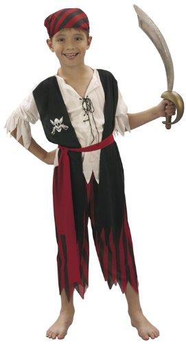 Patry-Partners 86871 Kinder Kostüm Pirat 7-9 Jahre ()