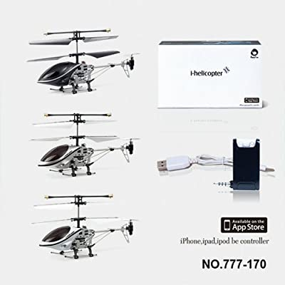 Helicopter -iPad/iPhone/iPod/Android controlled iHelicopter 3 channel RC Remote Control Helicopter 777-170 with Gyro