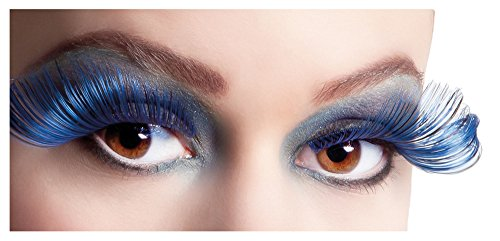 Künstliche Farbige XL Wimpern Flamboyant - False Eyelashes -