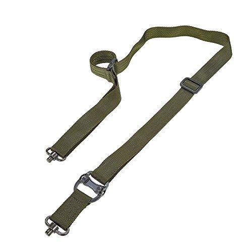XUE 2 Point Gewehr Sling mit 2 QD Swivels Quick Release Tactical Gewehrgurt Tragetuch Strap für Jagd -