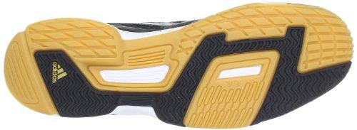 adidas Performance  Opticourt Ligra 2,  Scarpe sportive indoor uomo nero (Schwarz (Black 1 / Metallic Silver / Running White Ftw))