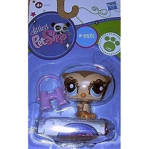Littlest Pet Shop, LPS 2231, búho con purpurina