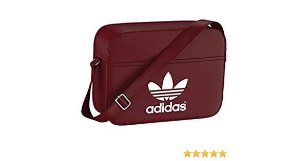 adidas Bag Classic Airliner Rust Red F15-St White 633e11cb54c47