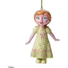 Enesco Disney Tradition Figurine Regina della Neve Sospensione Anna, Resina, Multicolore