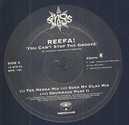 Str Stop (You Can't Stop The Groove [Vinyl Single 12''])