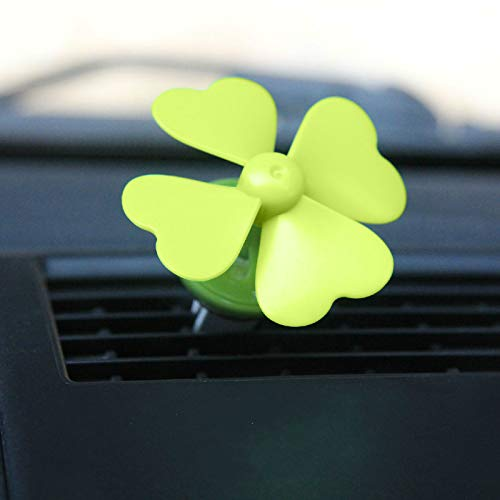 Air Conditioning Clover Clip green Vent Asc Four Hernamdez Fan Outlet Fragrant Perfume Freshener Creative Wendy 29EIHYWD
