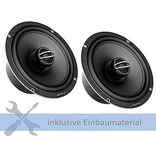Hertz Lautsprecher CPX165 570W 165mm 2Weg Koax für VW Golf 7 AUV Variant ab 2013 Einbauort: Türen vorne/hinten