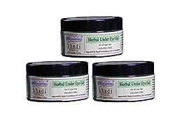 KHADI RISHIKESH Herbal Under Eye Gel - 50g Each (50Gmx3)
