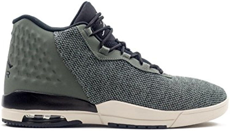 Jordan Schuhe  Academy grau/schwarz/weiß Größe: 44.5