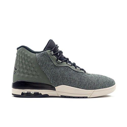 Jordan Schuhe – Academy grau/schwarz/weiß Größe: 46 (Jordan Schuhe Schwarz Und Grau)