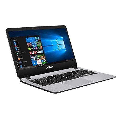 ASUS VivoBook 14 F407MA (90NB0HR1-M03420) 35,5 cm (14 Zoll, FHD, Matt) Notebook (Intel Pentium Silver N5000, 8GB RAM, 256GB SSD, Intel UHD-Grafik 605, Windows 10) Star Grey
