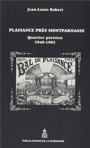 Plaisance prs Montparnasse : Quartier parisien (1840-1985)