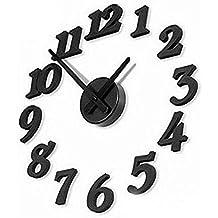 Diseño contemporáneo reloj de pared DIY adhesiva Interior