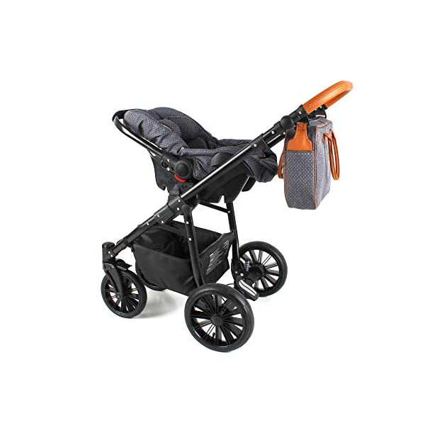 Travel System Stroller Pram Pushchair 2in1 3in1 Set Isofix Fort by SaintBaby Sand for-2 4in1 car seat +Isofix SaintBaby 3in1 , 2in1 or 4in1 selectable with isofix. With 3in1 you get the car seat (baby seat) in addition. With 4in1 you get both the infant carrier with Isofix mount and an Isofix base for your car. Of course, each set includes the infant carrier (classic stroller) and the buggy attachment (sports seat). The free accessories are also included in each set (changing bag, mosquito net and rain hood). Of course the car complies with the EU safety standard EN1888. During the production as well as before shipping, each car is carefully checked, so that you can be sure to have one of the best cars. Saintbaby stands for all-round carefree packages, so you also get a changing bag in the colour of the car, as well as rain and insect protection free of charge. With all the colours of this pram you will find the pram of your dreams. 3