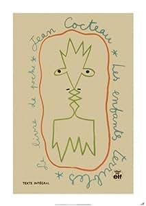 Les Enfants Terribles de Jean Cocteau Poster Grand Format 59 x 84 cm