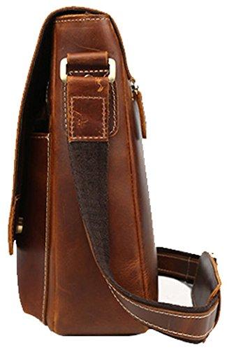 Everdoss, Borsa a spalla uomo, Brown 01 (marrone) - TD-1028-BRN01 Brown 02