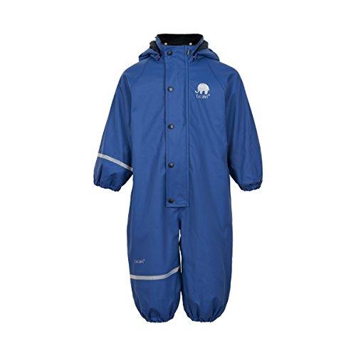 CeLaVi Kinder Jungen Regenanzug , Gefüttert, Alter: ab 12 Monaten, Größe: 80, Farbe: Blau, 310122