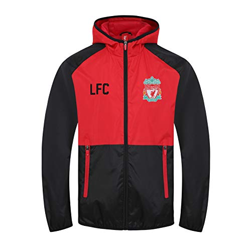 Liverpool FC Official Football Gift Boys Shower Jacket Windbreaker