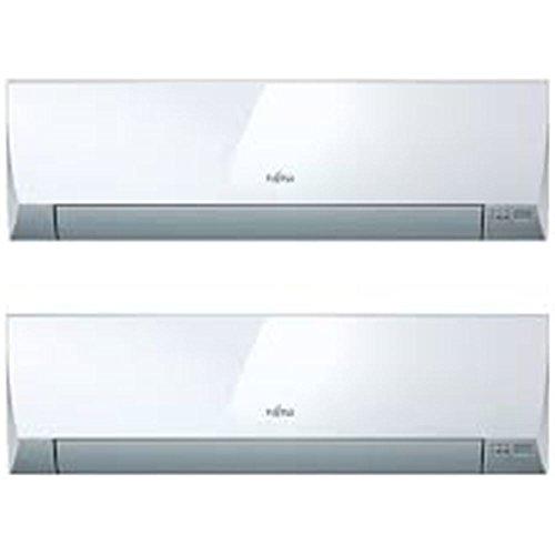 Fujitsu - Aire acondicionado Multisplit 2x1 Inverter ASY3520U11MI-LM con 2.665 + 1.634...