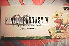 Final Fantasy V - Super Famicom - JAP