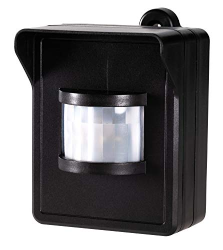 Funk-Bewegungsmelder IP44 - Wandaufbau - Batteriebetrieb - LED geeignet