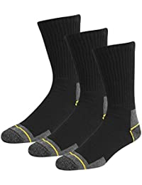 Men Contrast Cotton Rich Soft Pack Of 3 Work Socks