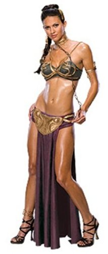 Rubies Costume Co Womens Secret Wishes Princess Leia Slave Costume Medium