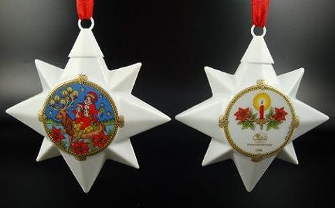 Hutschenreuther Porzellan Weihnachtsstern 1996 * Rarität * Im Laden nicht mehr erhältlich!