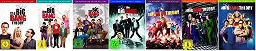 The Big Bang Theory Staffel/Season 1+2+3+4+5+6+7 * DVD Set - Big-bang-dvd-staffel 1